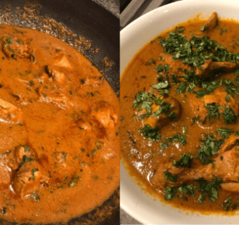 Non – Vegetarian – The Traditional Punjabi Chicken Curry (Made with oodles of love, among other things)