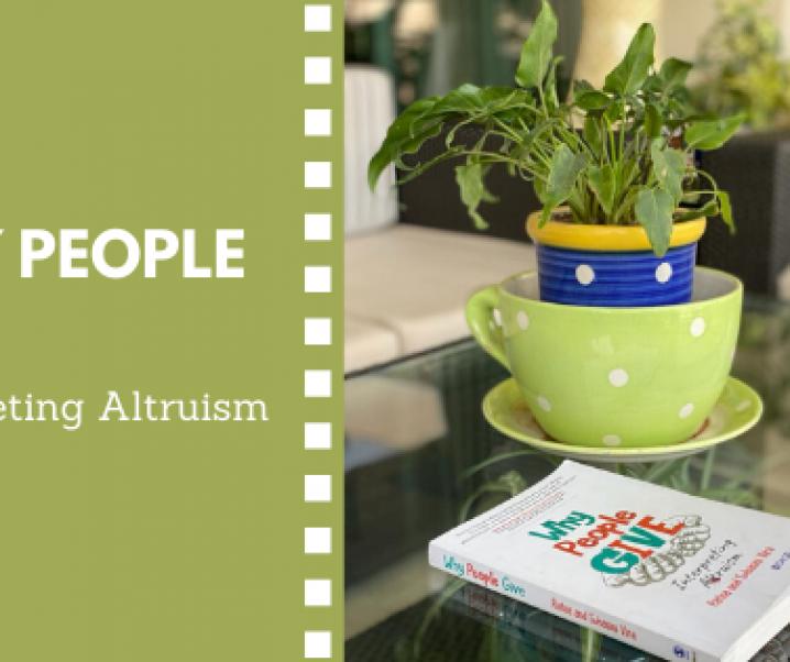 Why People Give: Interpreting Altruism, Ratna Vira, Suhasini Vira